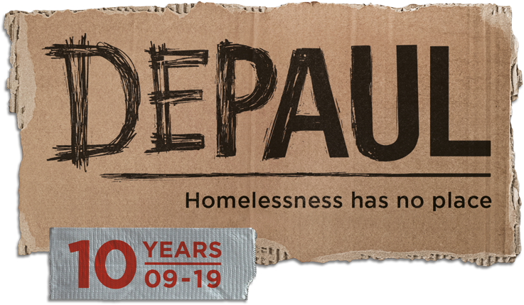 DePaul USA homeless services
