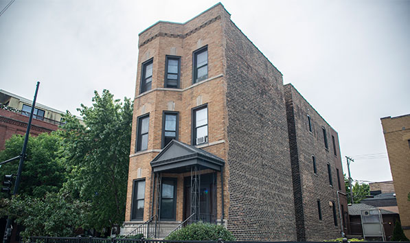 muti-unit housing for chicago homeless